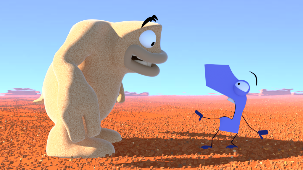 A moment in the sun, compositing test